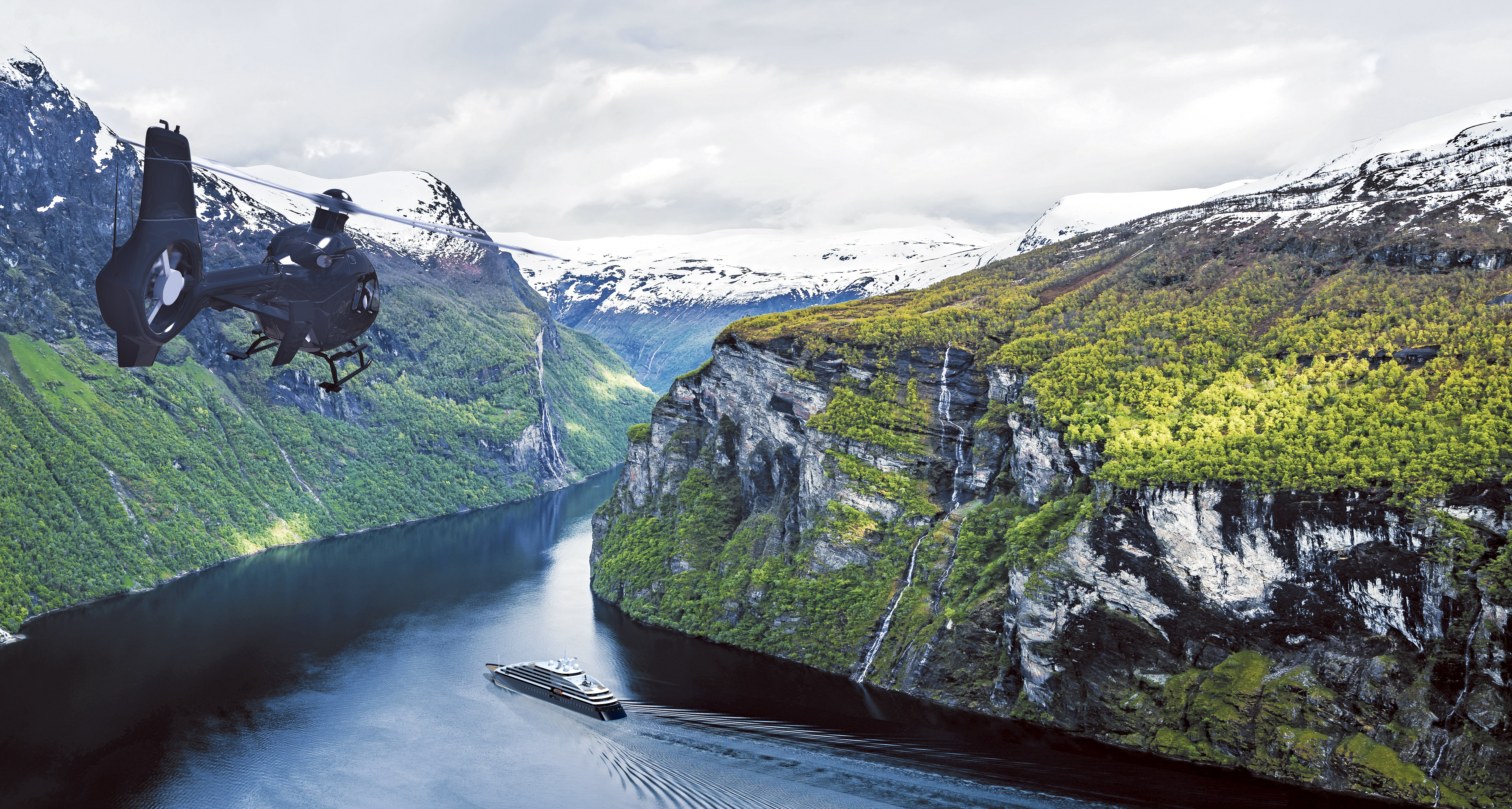 norwegian fjords 2019 (start bergen, end longyearbyen) by scenic